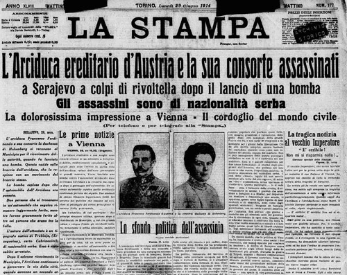 Il quotidiano La Stampa